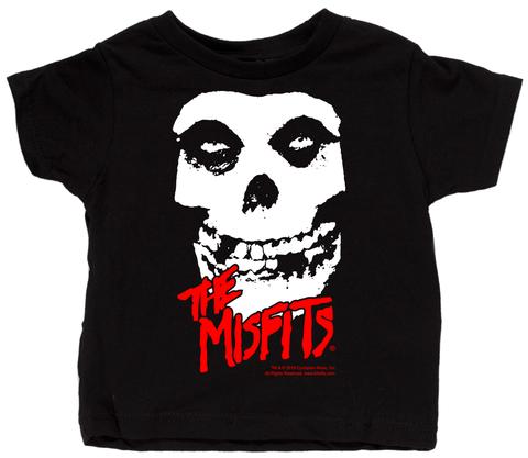 Misfits (sma)barn t-skjort - Skull